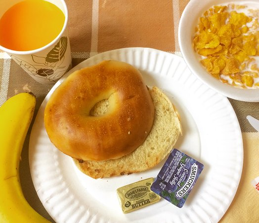 Chelsea International Hostel: Standard daily breakfast