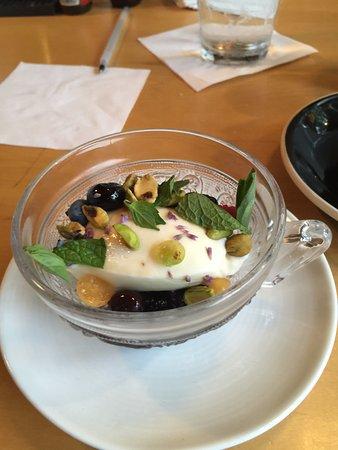 Winooski, Вермонт: Panna cotta dessert