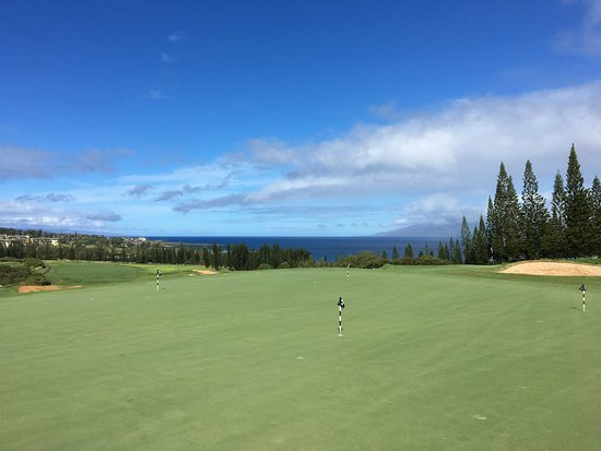 Kapalua Plantation Course: Practice green