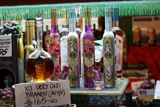Tamborine Mountain Distillery: The Beautiful bottles