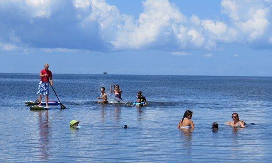 Rodanthe, NC: Just off the beach at Salvo Park on Pamlico Sound