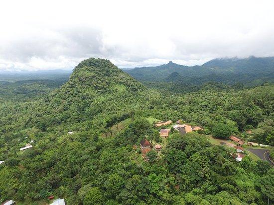 Mariposario Cerro La Vieja: Vista del Cerro La Vieja