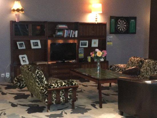 Comfort Hotel Xpress Youngstorget: 酒店設有休閒和用餐空間