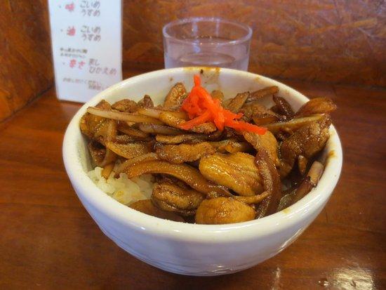 Yurihonjo, Japón: ミニ焼きぶた丼