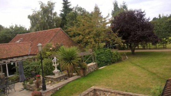 Woodman's Farm: View from bedroom window