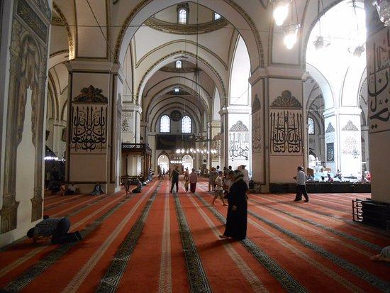 Ulu Cami: camii iç mekan