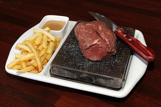 Stonegrill Steakhouse: filet de boeuf Nouvelle Zélande