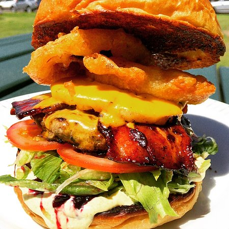 Old Bar, Αυστραλία: Beach Burger