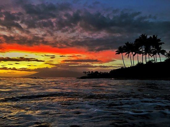 Paia, Hawái: Perfect Maui Sunset