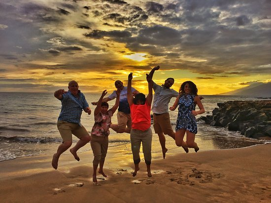 Paia, Hawái: Jumping for Joy
