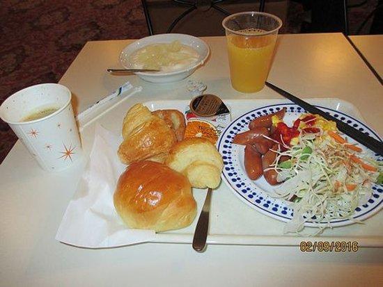Hotel Econo Kanazawakatamachi: Breakfast