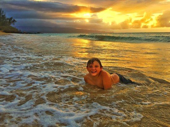 Paia Bay Sunset