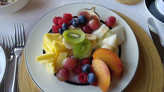 Alexandra Lodge: Beginning of breakfast