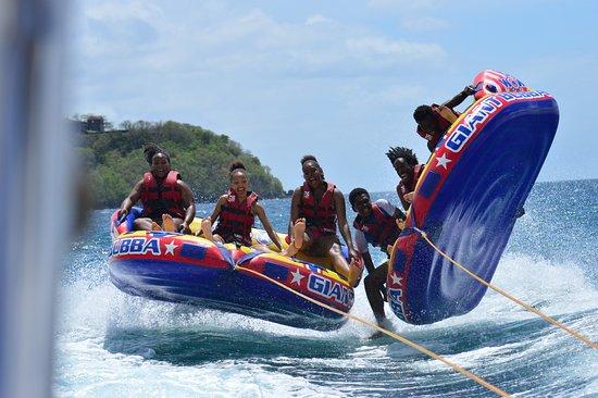 Trois-Ilets, Martinique: Canapé 4 places (8 personnes)