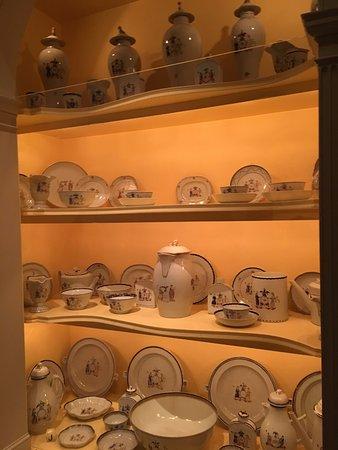 Winterthur, DE: 数以万计的中国外销瓷器 定制