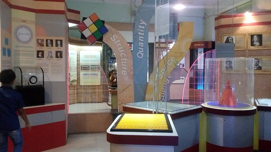 Birla Industrial & Technological Museum: physics section