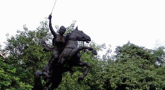 Gwalior, India: Laxmi Bai ki Chhatri