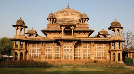 Gwalior, India: Ghaus Mohammed's Tomb