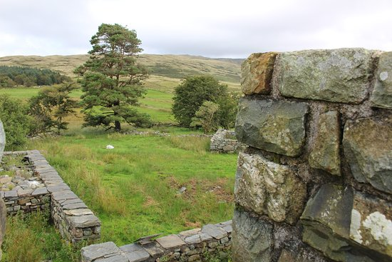 Trawsfynydd, UK: view from fort