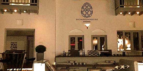 Bonbonniere mykonos restaurant avis num ro de - Mykonos lieux d interet ...