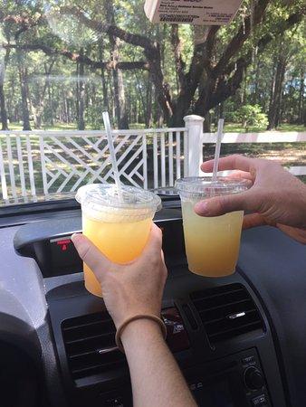 Hopsewee Plantation: Lemonade to go!