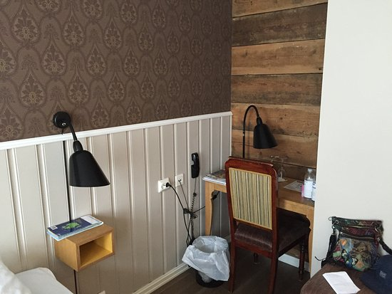 Grand Hotel Egersund: Speciaal hoekje om te zitten met tablet, etc.