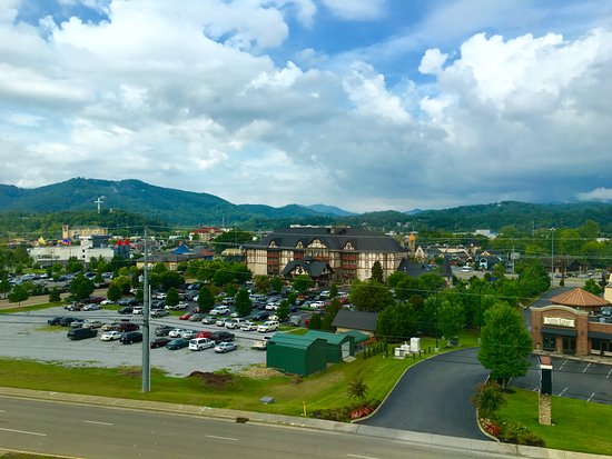 View from Hotel room - Picture of Hilton Garden Inn Pigeon Forge ...