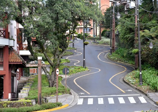 A Rua Torta de Gramado: RUA TORTA EM GRAMADO - RS