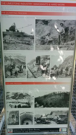 Red Wing, MN: Limestone quarrying history