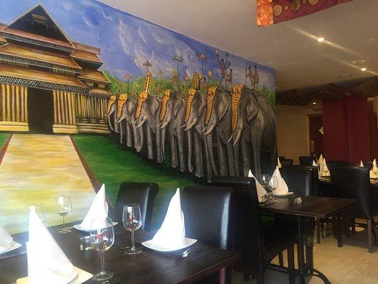 Ury Restaurant: Inside