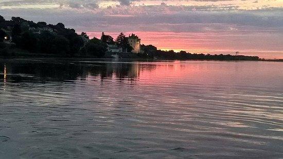 Montsoreau, Francia: l'une des vues de l'Amarante et il y a eu encore mieux...