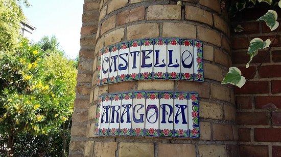 Castello Aragona: ingresso