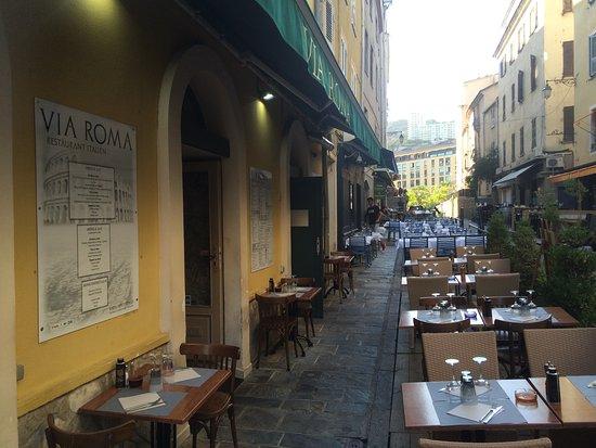 Le via roma ajaccio restaurant avis num ro de - Pizzeria le finestre roma ...