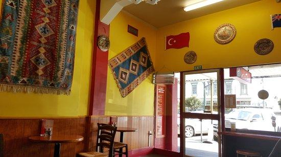 Gore, Selandia Baru: 餐廳內裝