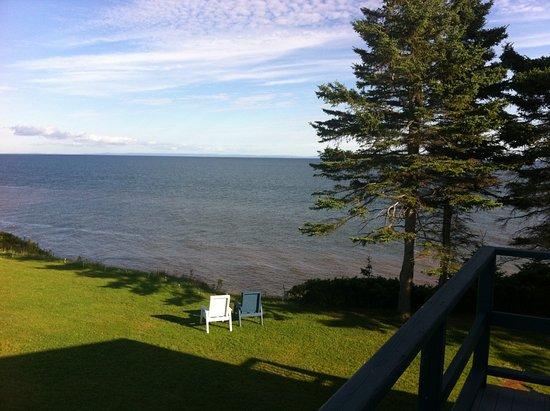 Murray River, Καναδάς: View from balcony