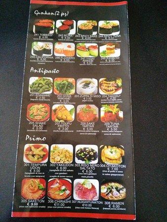 Ristorante ristorante cinese giapponese mediterraneo in for Menu cinese