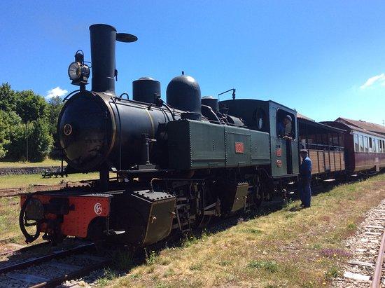 Tence, ฝรั่งเศส: The Steam Train