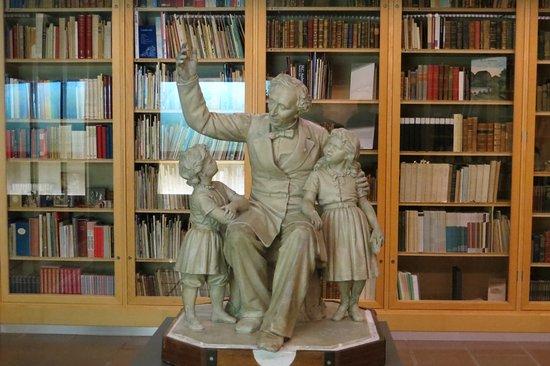Hans Christian Andersen Museum: Bibilothèque du Musée