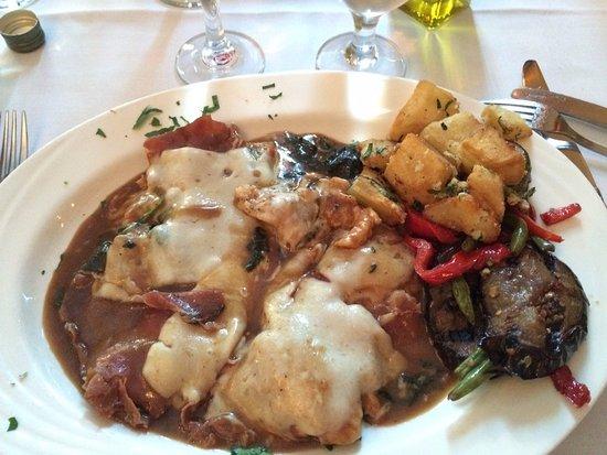 Strathmere, NJ: Pollo alla Fontana - with prosciutto & cheese