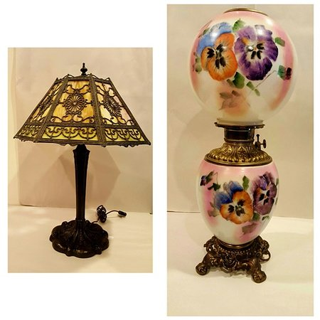 Old Saybrook, CT: Example of our large selection of antique lighting