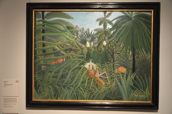 Art Gallery of the European and American Countries of the XIX-XX centuries : Il Doganiere Rousseau