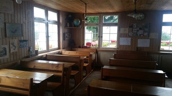 Teufen, Switzerland: old school
