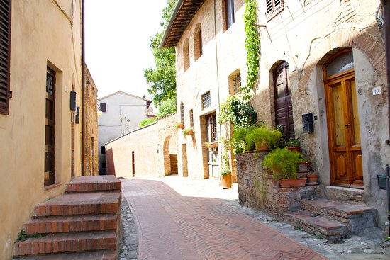 Certaldo, إيطاليا: Picture perfect location