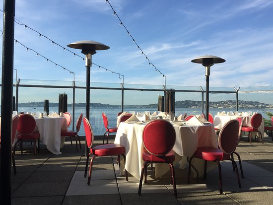 Salty's on Alki : One view from the patio