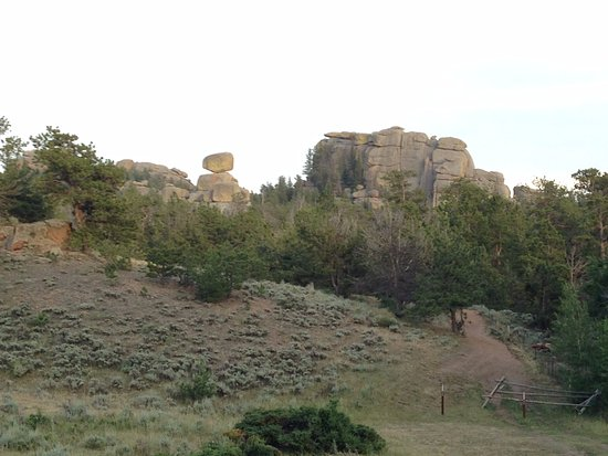 Laramie, WY: Incredible landscapes on the Eastern trails.