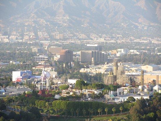 Beverly Hills, CA: Vue sur les studios Warner et Universal