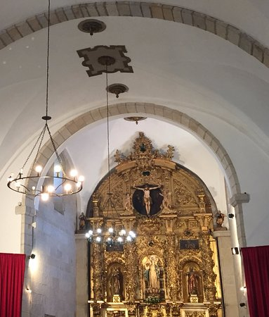 Hervas, Spain: Detalle retablo mayor