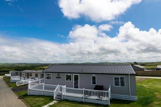 Widemouth Bay, UK: Lodges at Widemouth