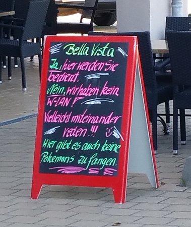 Borgerende-Rethwisch, Alemania: Das beschreibt die Einstellung des Servicepersonals wohl am Besten! Keine Fragen stellen - Geld