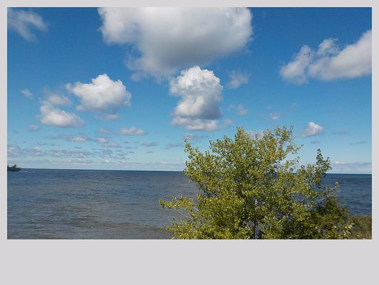 Waterport, Estado de Nueva York: A view of Beautiful Lake Ontario